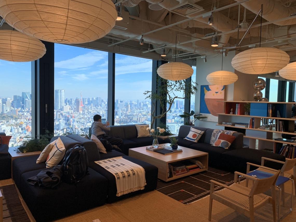 東京オフィス内観
